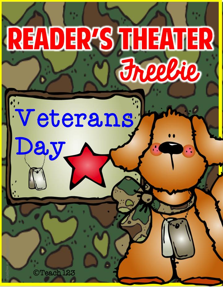 FREE Reader's Theater: Veterans Day - Tuesday Teacher Tip