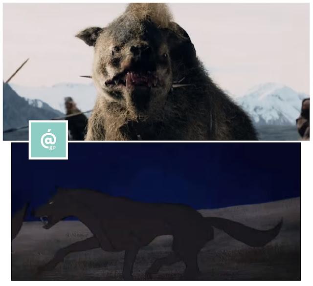 Wargos - El Señor de los Anillos: Peter Jackson Vs Ralph Bakshi - JRRTolkien - ÁlvaroGP - el fancine - el troblogdita