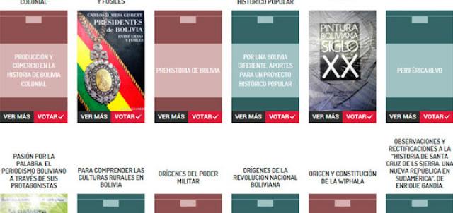 Bolivia Informa: GRATIS: Descarga Libros Bolivianos