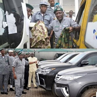 Nigeria Customs Seize Nine Expensive Bulletproof Cars worth N1.2 billion