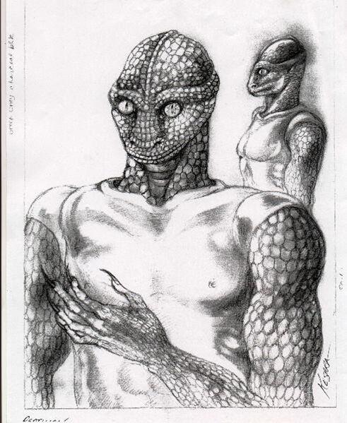Entrevista con un Reptiliano (Draconiano)