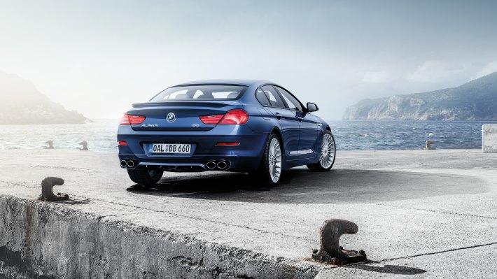 Wallpaper: BMW ALPINA B6 xDrive Gran Coupe rear side
