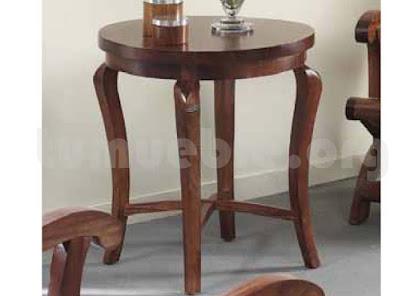 mesa auxiliar hecho en teca j805