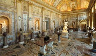 Sala IV, Sala dos Imperadores , Galeria Borghese com guia particular