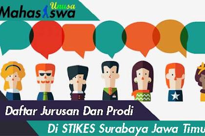 Daftar Jurusan Di Stikes Surabaya