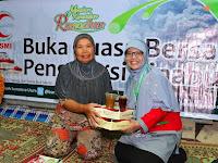 BSMI Salurkan Paket SEDAN (Sedekah Ramadhan) Di Posko Pengungsian Gunung Sinabung