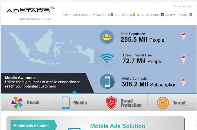 Cara Menjadi Publisher Adspace Adstars Media