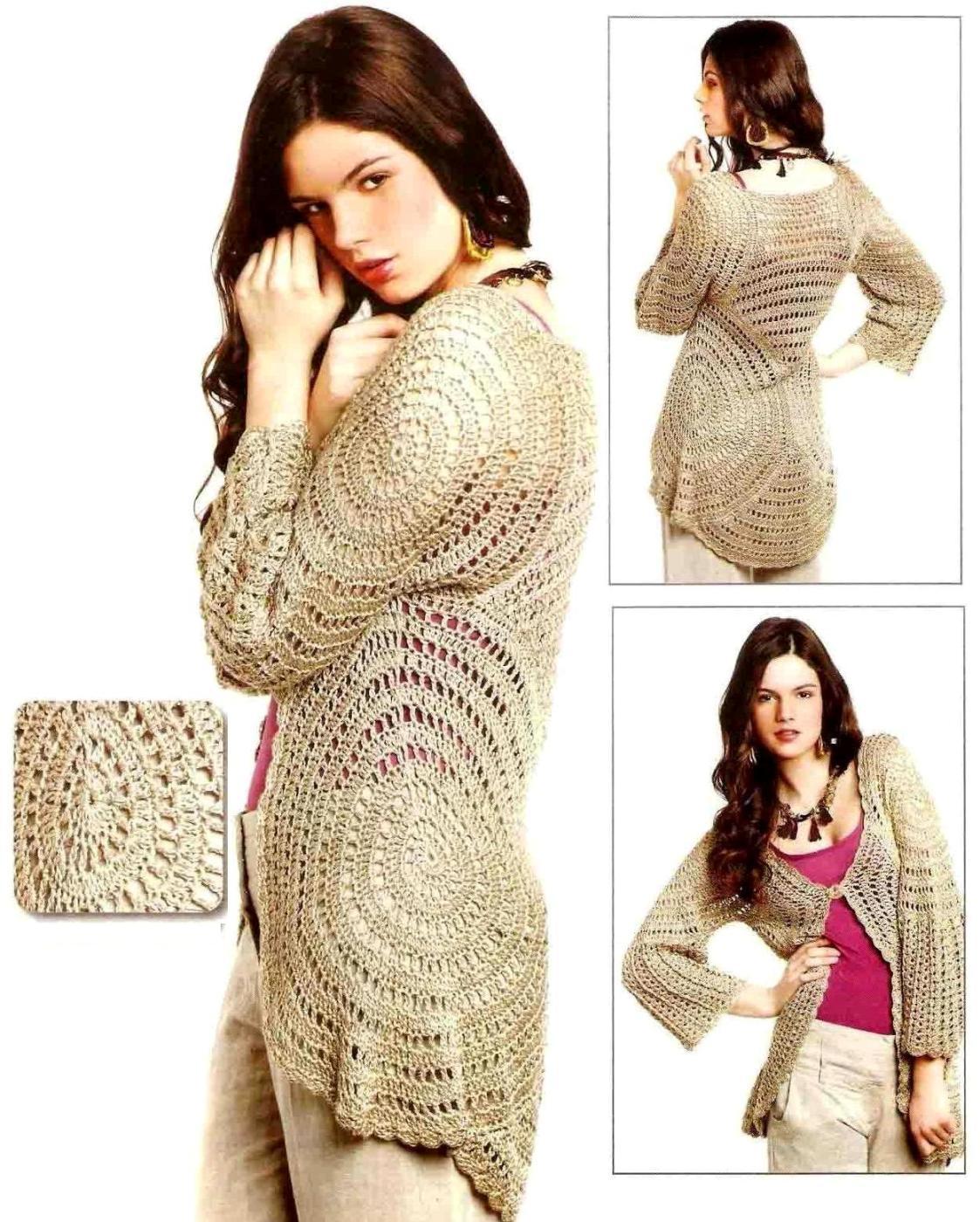 Tejiendo Crochet: Patrones Damas Crochet