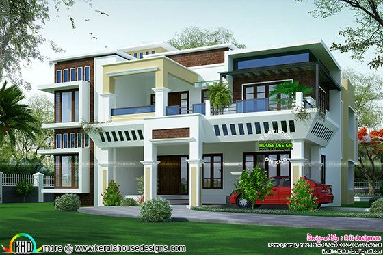 Awesome contemporary house plan