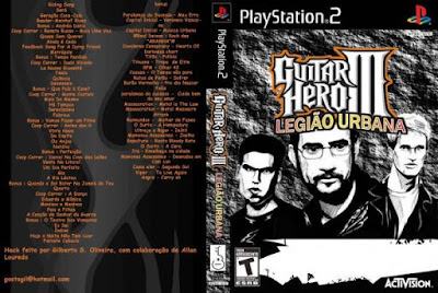 Guitar Hero Legião Urbana (PS2)