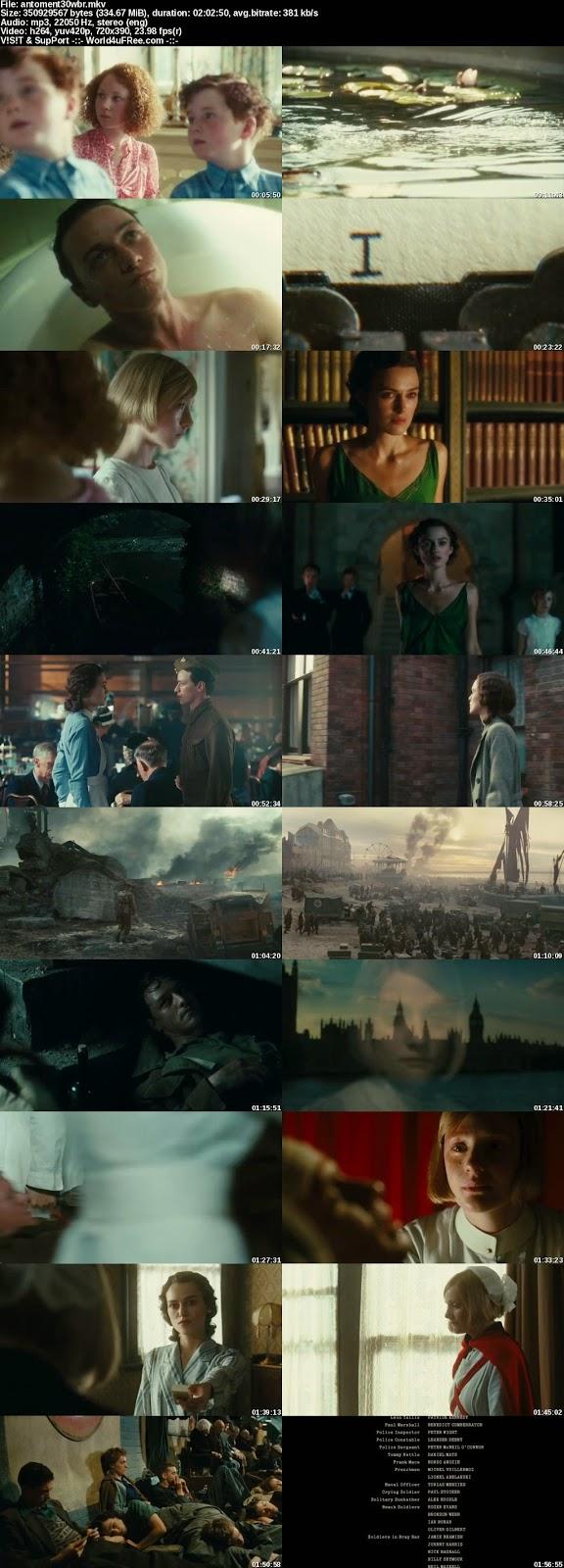 Atonement (2007) English 480p BluRay 500Mb Full Movie Download