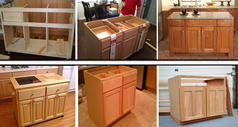DIY Impressive Ideas to Build Small Functional Kitchen Island ...