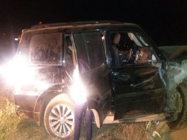 Candidato a prefeito de Tianguá, Dr. Luiz Menezes, sofre acidente de carro