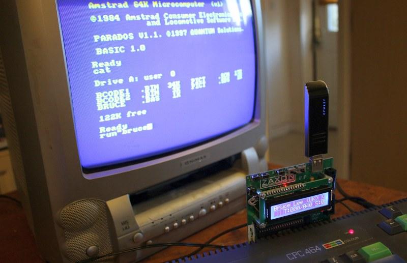 Indie Retro News: DDI3 USB Floppy Emulator for the Amstrad