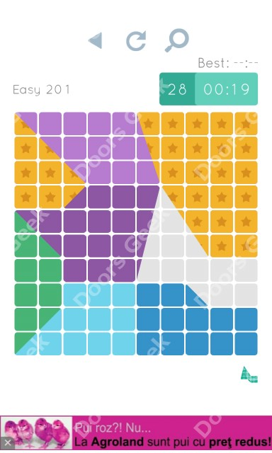 Cheats, Walkthrough for Blocks and Shapes Level 201
