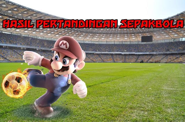 Hasil Pertandingan Sepakbola 15 - 16 Juni 2018