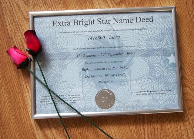 Certificate Deed