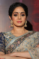 Sri Devi in designer saree stunning beauty at the launch of MOM movie Trailer~  Exclusive 043.JPG