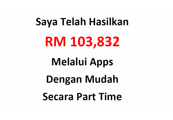 Jana Income RM100K dari Adsense Menerusi Apps