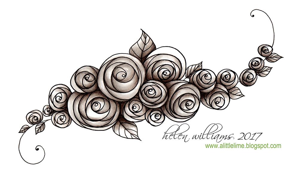 String Rose Pattern