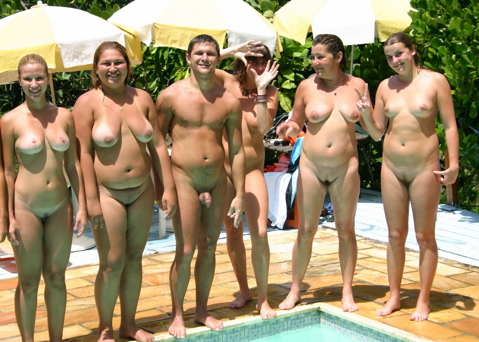 Euro family nudist video your place