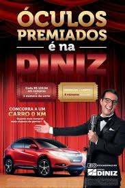 Promoção Óculos Premiado é na Diniz