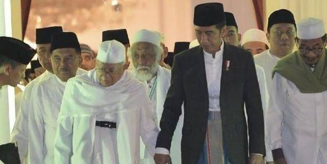 Amanat PBNU kepada Pasangan H Joko Widodo dan KH Ma'ruf Amin