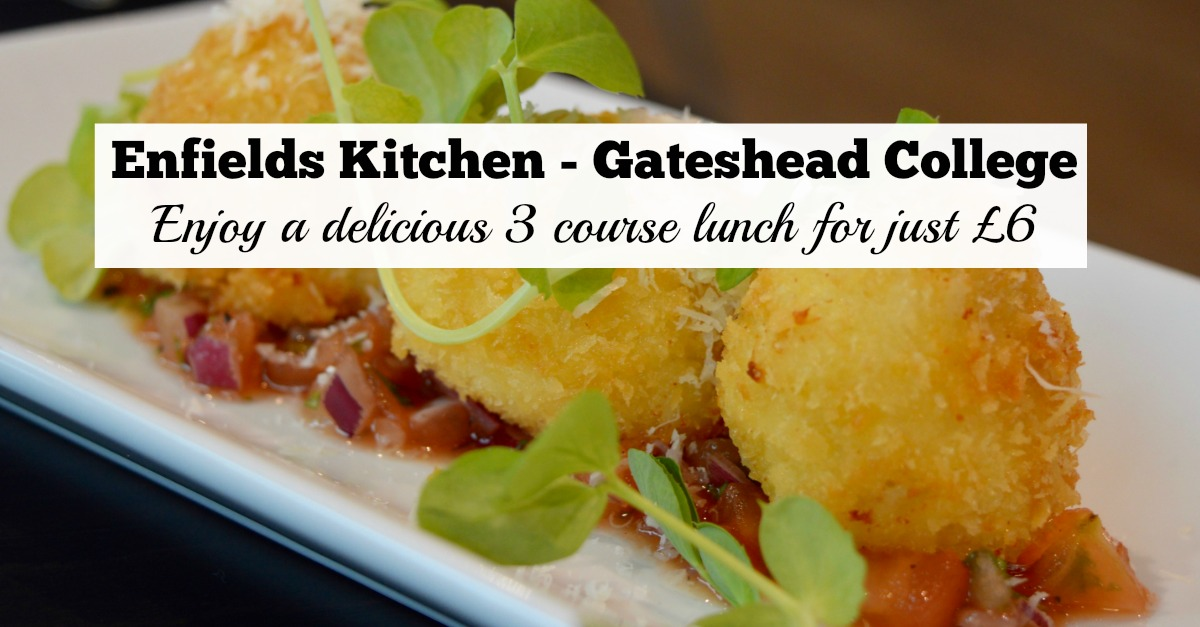 Enfields Kitchen - Gateshead College | Enjoy a delicious 3 course lunch for just £6