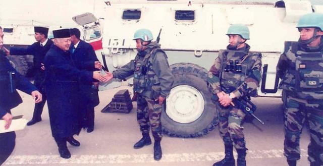 soeharto sumbang bosnia