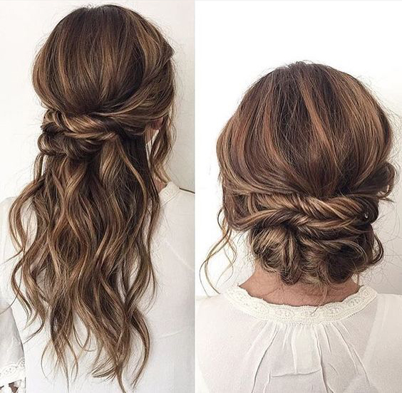twist bun I  Sexy, Fun & Flirty Summer Hairstyles