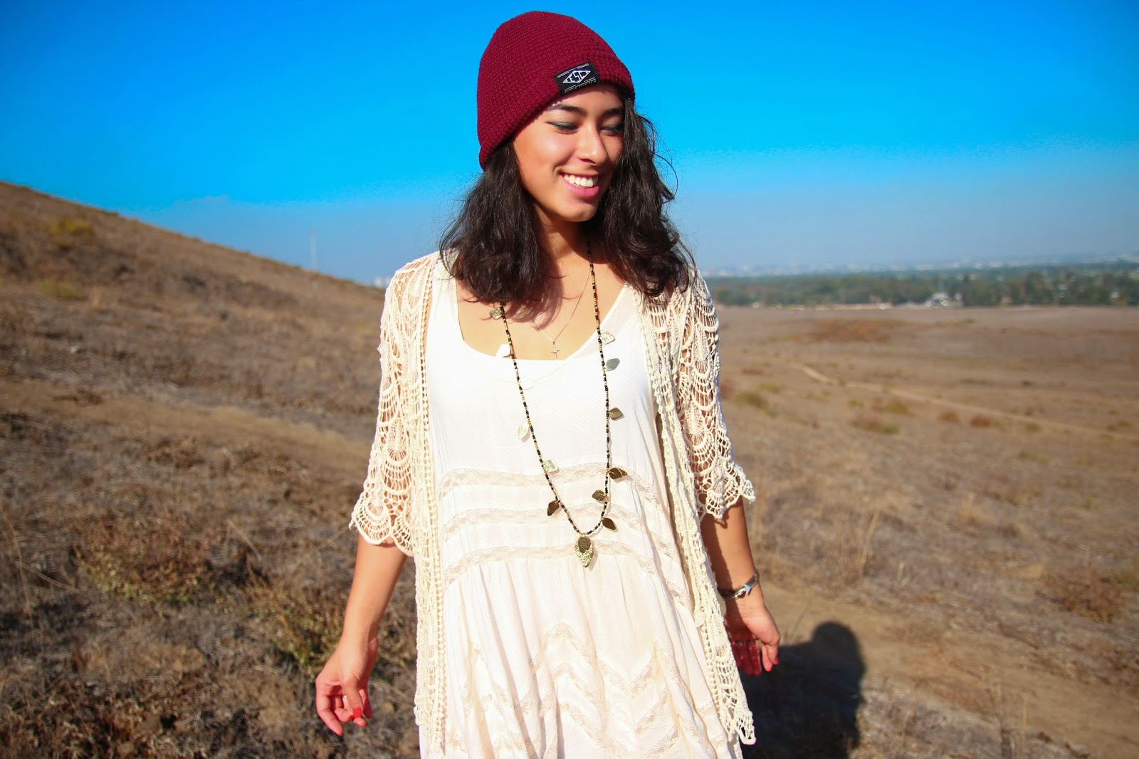 Quail Hill, raven & lily, free people, beanie, Orange county