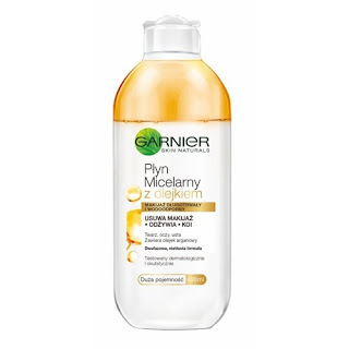 Garnier płyn micelarny z olejkiem arganowym
