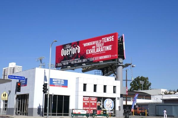 Overlord movie billboard