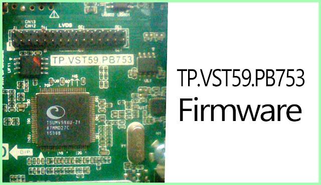 TP.VST59.PB753 firmware download free (USB Updater File) TV Board Firmware