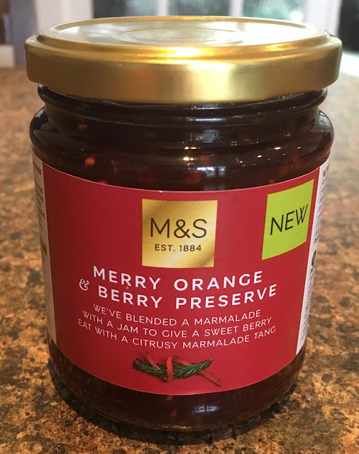 Merry Orange & Berry Preserve