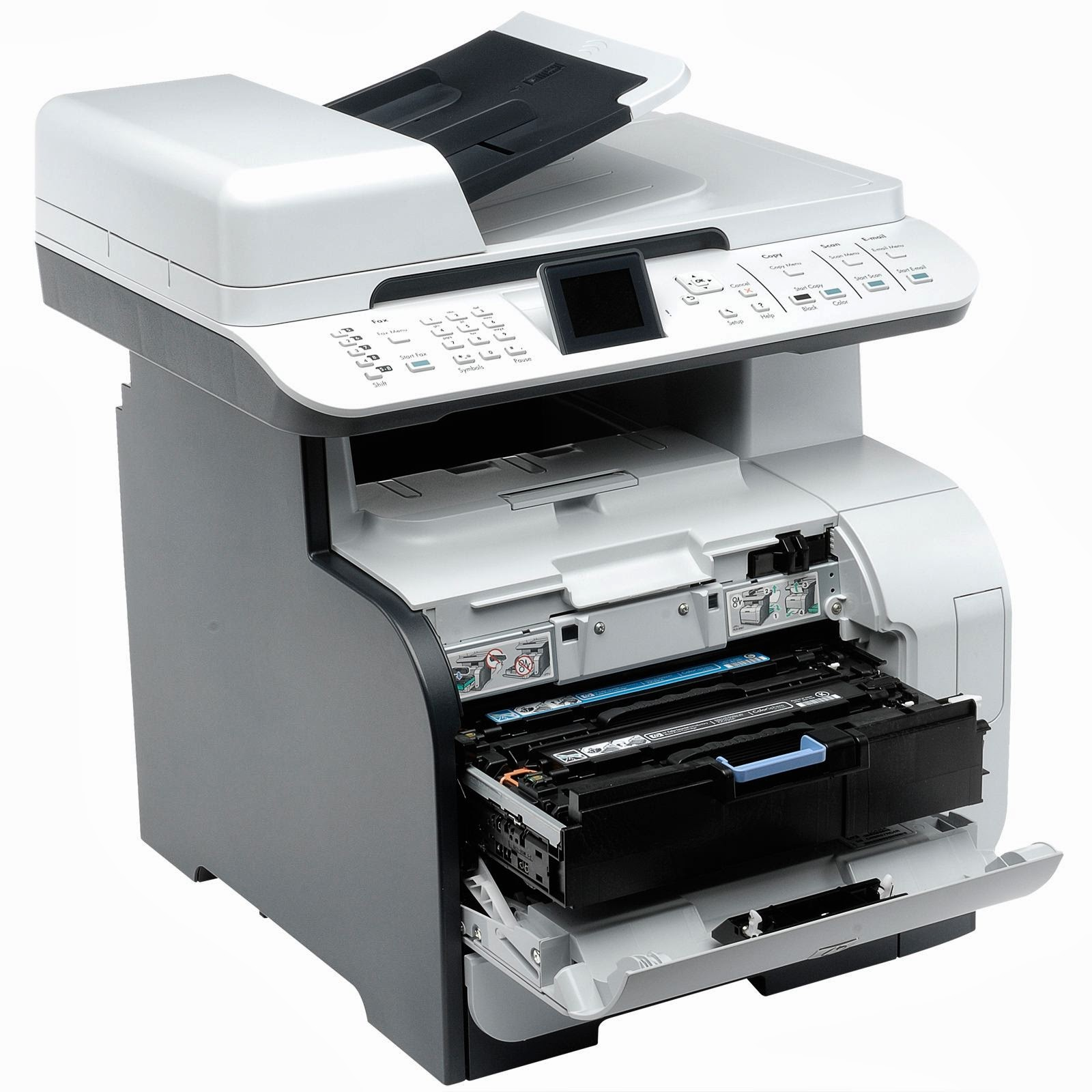 too scan capabilities inward a unmarried slow to work device HP Color LaserJet CM2320nf Driver Downloads