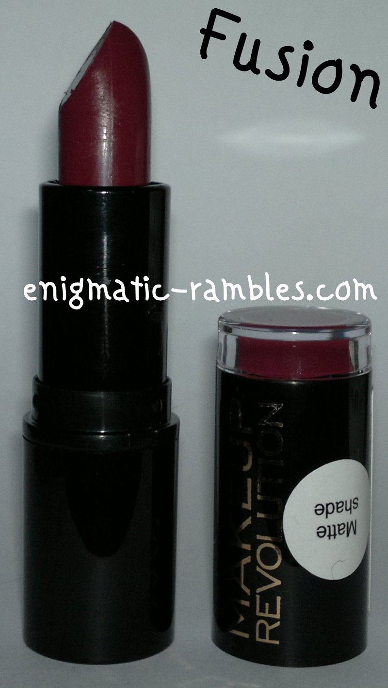 Swatch-Review-Makeup-Revolution-Fusion-Matte-Lipstick