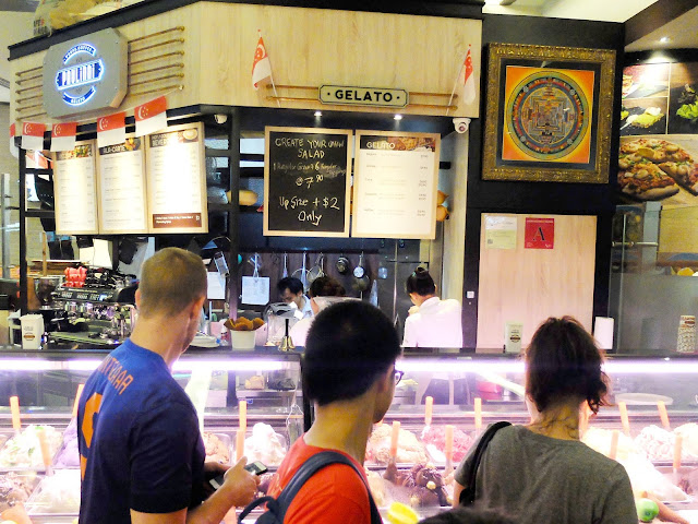 Waffles with Ice Cream & Salad Bar at Paulinni, Chinatown Point