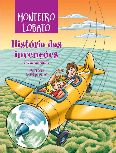 História das invenções Monteiro Lobato