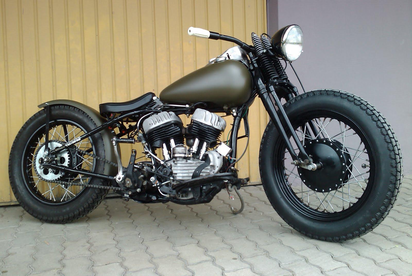Bobber Harley Davidson : cafe racer special harley davidson wld bobber 1938 ~ Medecine-chirurgie-esthetiques.com Avis de Voitures