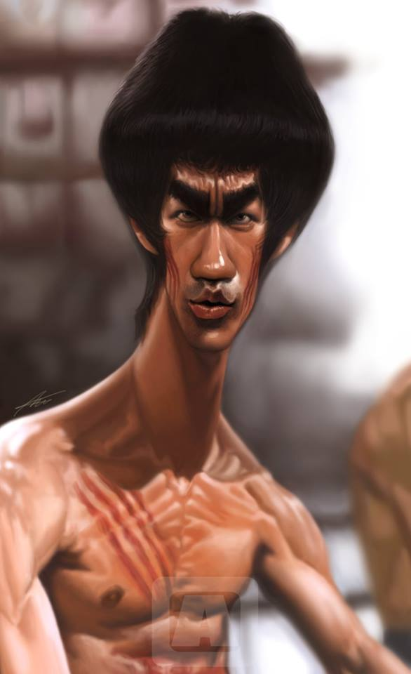 Bruce Lee por Angineer Ang