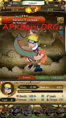 Ultimate Ninja Blazing v1.1.5 MOD Apk Terbaru (High Damage+HP)