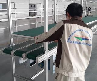 Công ty cung ứng băng tải pvc