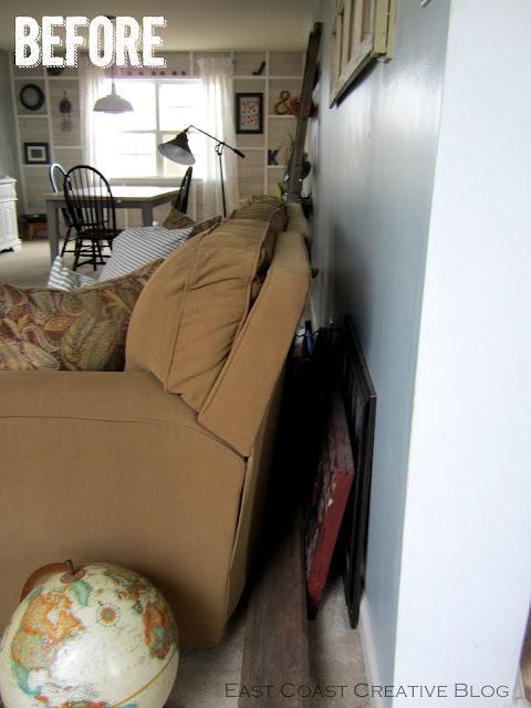 Faux Sofa Table Tutorial