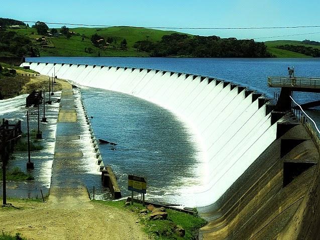 A Barragem do Salto fica no Rio Santa Cruz, em São Francisco de Paula