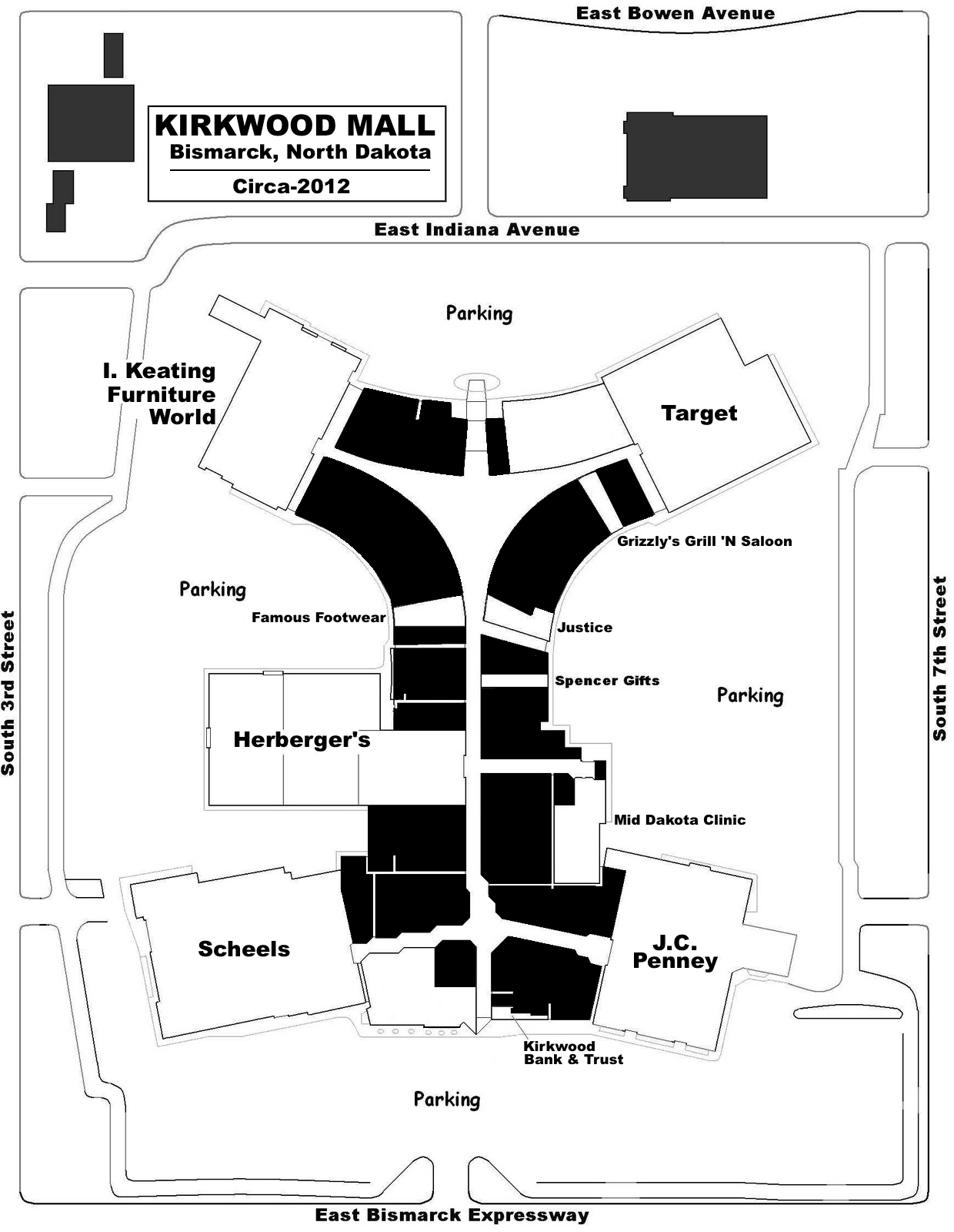 Kirkwood Mall Stores List