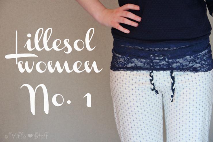 Lillesol & Pelle Schnittmuster | romantische Freizeithose