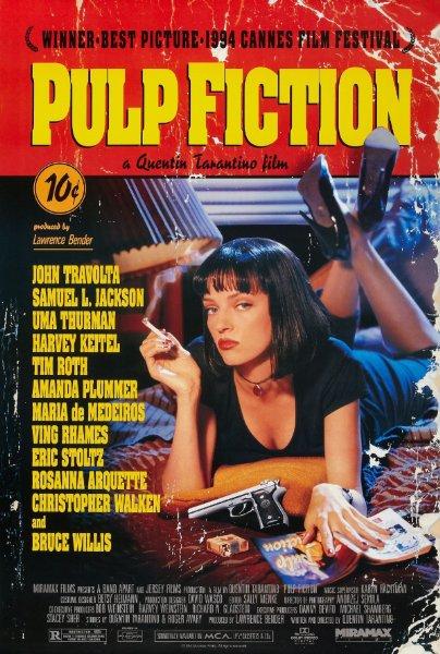 دانلود رایگان فیلم  پالپ فیکشن (1994) Pulp Fiction با دوبله فارسی