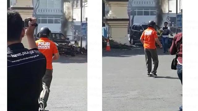 Salut! Naluri Seorang Ayah, Membuat AKBP Rony Faisal Reflek Selamatkan Anak Pelaku Teror Yang Terpental Saat Bom Meledak di Polrestabes Surabaya