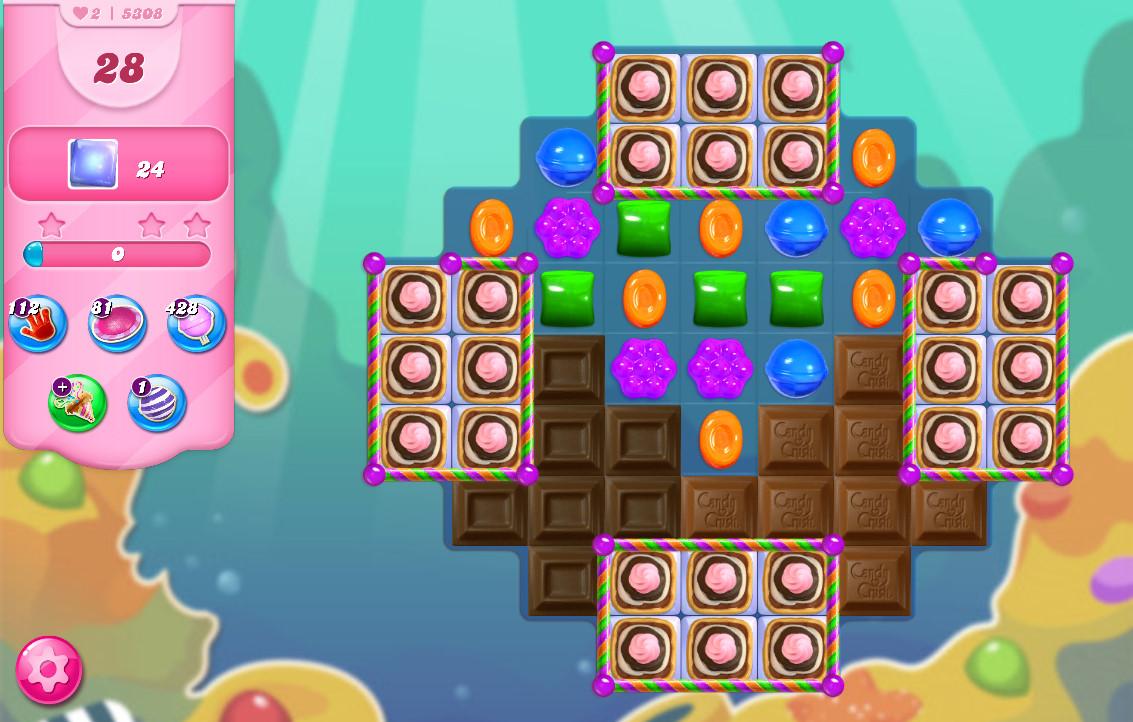 Candy Crush Saga level 5308
